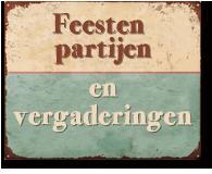 Feesten, partijen en vergaderingen