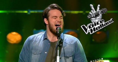 Dave Vermeulen van The Voice
